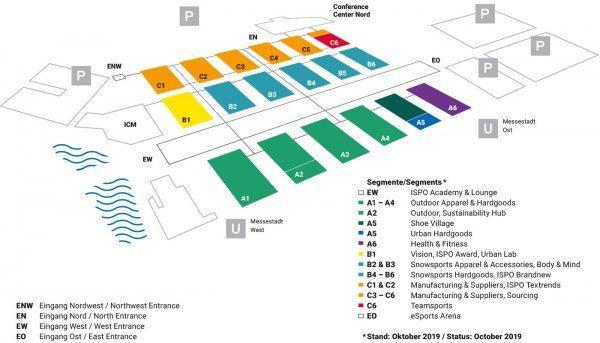ISPO 2020 Hallenpaln